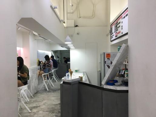 Oddies Foodies Seating Area
