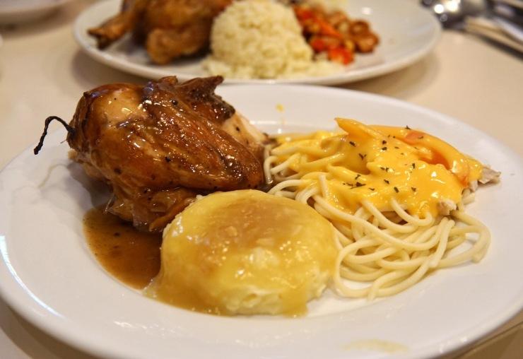 Kenny Rogers 1/4 Chicken Set