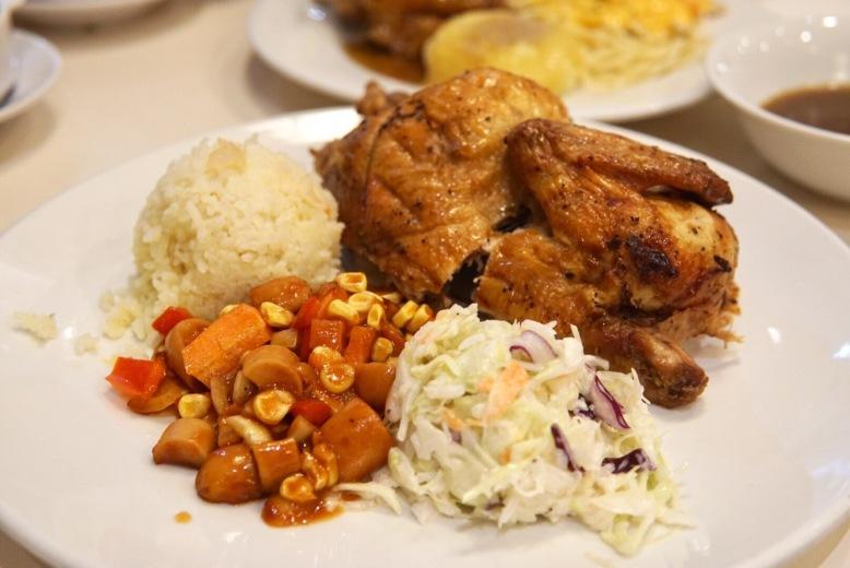 Kenny Rogers 1/2 Chicken Set