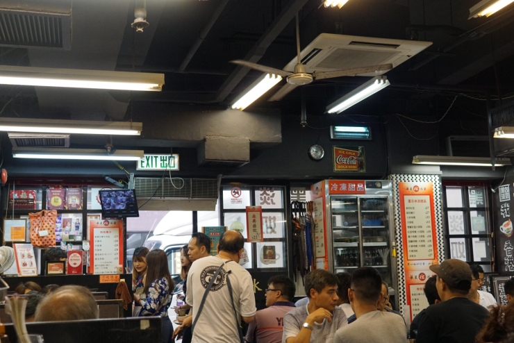 Capital Cafe Interior