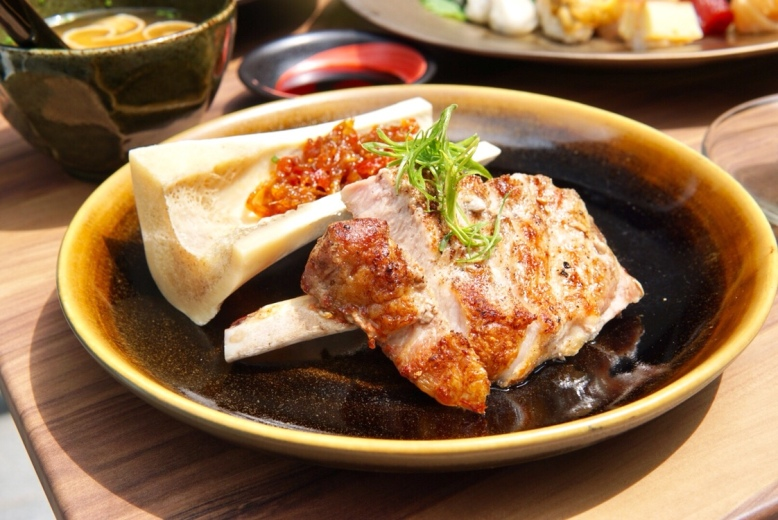 Cast Iron Iberico Pork Chop