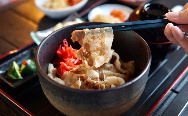 Niku Katsumata Kagoshima Kurobuta Pork Don