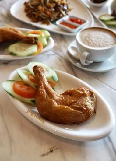 PappaRich Nasi Lemak with Fried Chicken Thigh