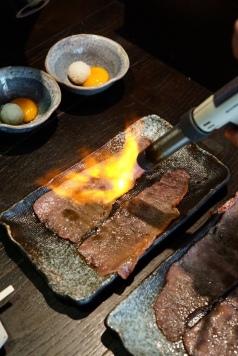 Sumire Wagyu Aburi Sukiyaki