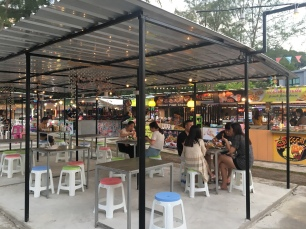Ao Nang Night Market Indoor Seating Area