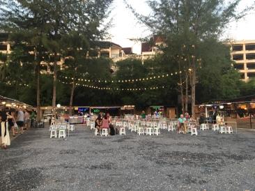 Ao Nang Night Market Outdoor Seating Area