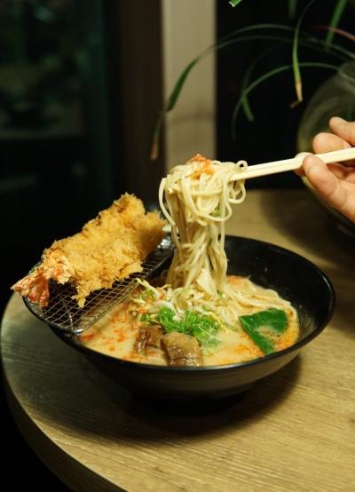 Hajime Tonkatsu & Ramen Ebi Fry Ramen