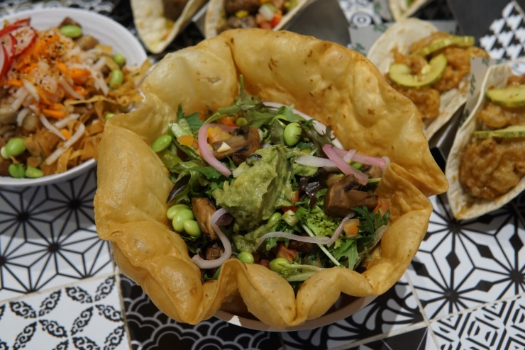 Pasarbella The Lime Truck Tostada Salad Bowl