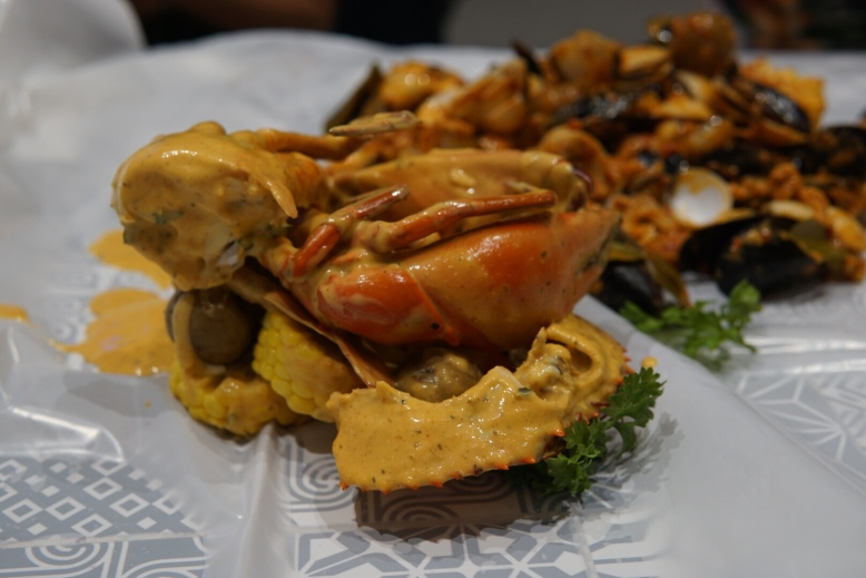 Pasarbella Cajun on Wheels Oh Crab