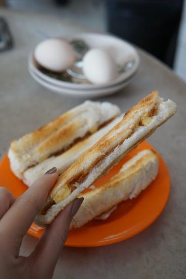 Ban Hin Coffee Shop Kaya Toast