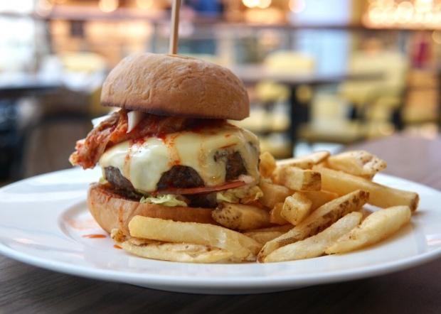 The Butcher's Kitchen Cowboy Kimchi Burger
