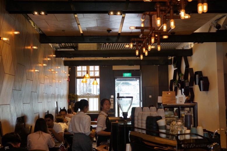 The Populus Cafe Interior