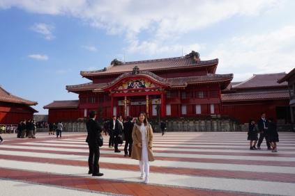 Shuri Castle Exterior