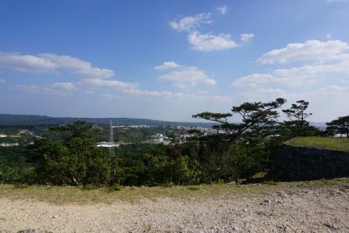 Zakimi Castle Ruins View